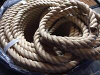 24mm Polyhemp Rope - NEW - sold per metre