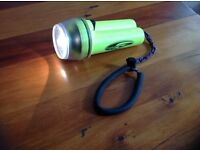 Dive torch in very good condition..very bright