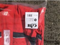 Brand new red Gill sailing jacket XL