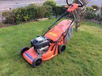 Husqvarna Royal 49SE Petrol Self-drive lawnmower. 20 inch cut. XTL 55cat engine. Trio clip.