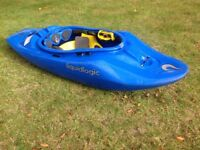 Liquid logic scooter play boat white what kayak river kayak fun small canoe kayak liquidlogic cheap