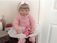 Ornamental baby doll.