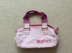 Pink bowling style bag