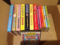 43 Jacqueline Wilson Books