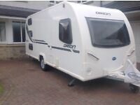 Bailey Orion 450/5 5 Berth Caravan with Full Awning and more