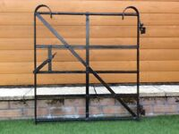 Reclaimed traditional wrought iron gate fit gap 900mm. A little tlc will last another 70 years,