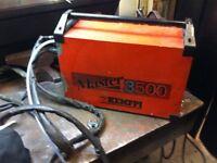 Kemppi 350 amp mastertig welder