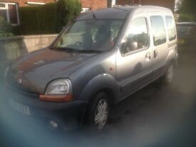 Renault Kangoo authentique estate spares or repairs