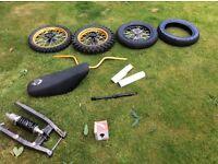 Pit bike parts