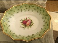 Various old/antique china