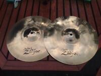 """Zildjian A custom 13"""" Hihats"""