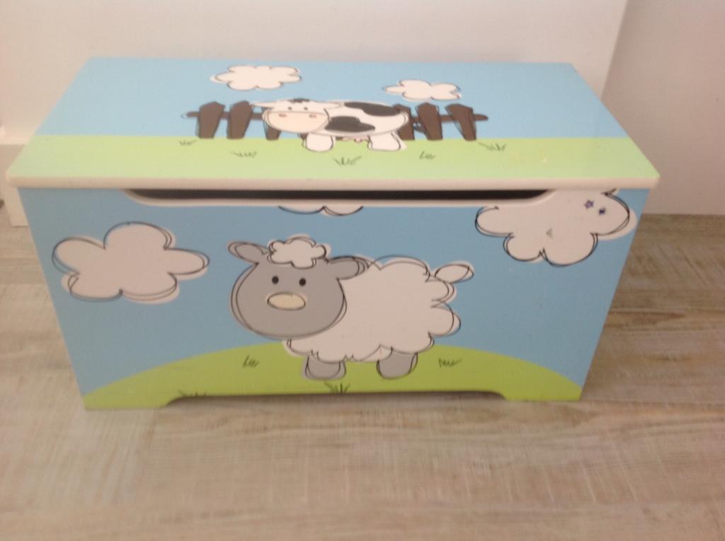 Baby Farm Animal Toy Box