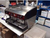 Wega 2 Group Coffee Machine, used but in good condition. Includes instruction manual.