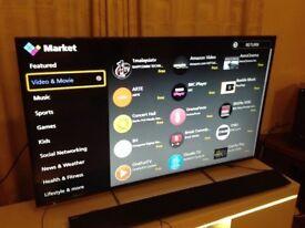 PANASONIC 55-inch SUPER Smart UHD 4K HDR LED TV-55DX650B,Wifi,Freeview HD,Netflix,Fully Working