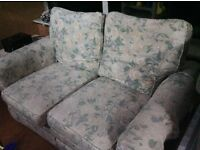 FREE - two identical, two seater sofas