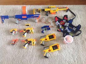 Nerf guns assortment