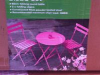 Pink Patio Furniture