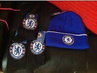 Men's new football Chelsea hat and socks