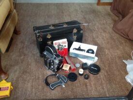 Paillard Bolex H16-H8 Film Camera with Multiple Accessories - REDUCED