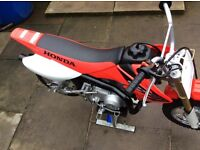 Honda crf 50 low low hours