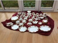 1962 Vintage Collectable Royal Albert Old Country Roses Dinner, Tea, Coffee Set