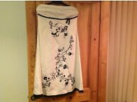 Strapless dress, size 14