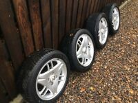 "FORD 15"" ALLOYS AND TYRES"
