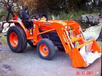 Kubota L3200 + Attachments OFFERS OVER £10,500