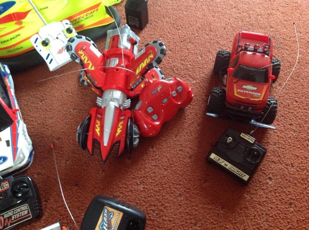 Children's/ adults remote control hovercraft, cars, plane etc