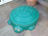 Little tikes turtle sand and water pit