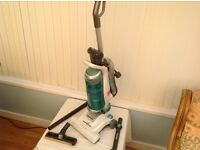 HOOVER GLOBE BAGLESS UPRIGHT CLEANER VERY LITTLE USE