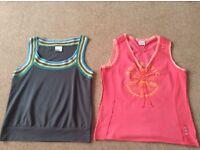 Next Vest Tops x 2