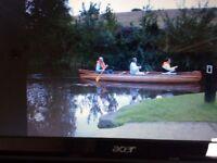 Canoe Canadian cedar