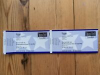 Frozen- Suranne Jones - Haymarket Theatre - pre theatre Tapas. Great seats Stalls H21 and 22