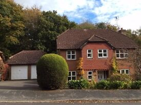 4 Bed Detached House With Double Garage TN21, Backing Onto Woodland