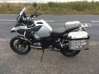 2015 BMW R1200GS Te Adenture with panniers