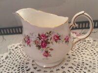Duchess Bone China Milk Jug. June Bouquet.