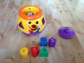 Fisher price laugh and learn cookie shape surprise
