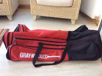 Gray Nicolls large wheelie cricket bag