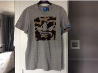 Adidas Camo trefoil tshirt