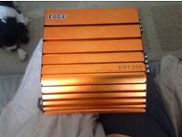 Car stereo Edge amplifier