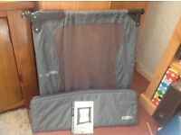 BABY DAN TO GO PORTABLE SAFETY GATE IN CARRY BAG.