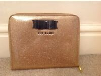 Ted Baker IPad Case-Gold and Black