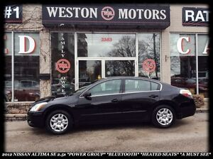 2012 Nissan Altima 2.5S *POWER GROUP *BLUETOOTH *HEATED SEATS
