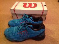 Men's Wilson Tennis Shoes Kaos (size UK 7.5)