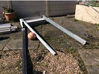 Metal shutters scrap
