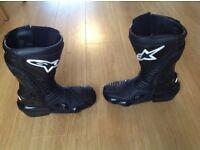 Alpinestars SMX motorbike boots very good condition