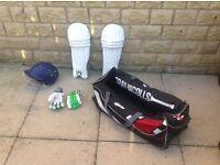 Gray Nicholls boys cricket equipment