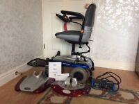 Electric wheelchair in very good condition. Comes with battery,charger & manual