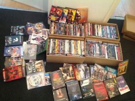 200+ movies / tv shows, majority boxed, some never used, great condition